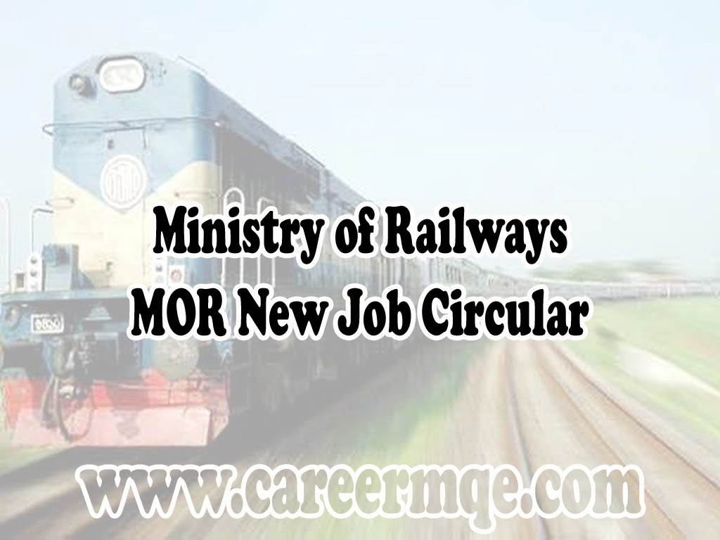 Ministry of Railways MOR Job Circular Apply 2020- www.mor.gov.bd