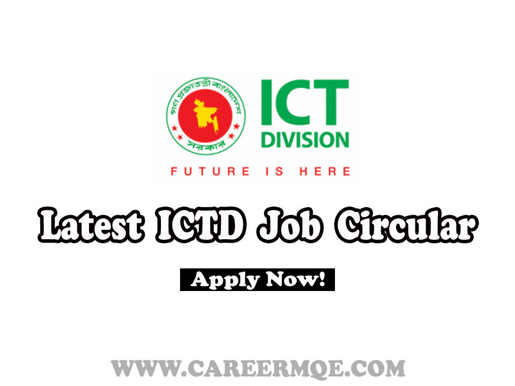 ICTD Job Circular & Application From 2020
