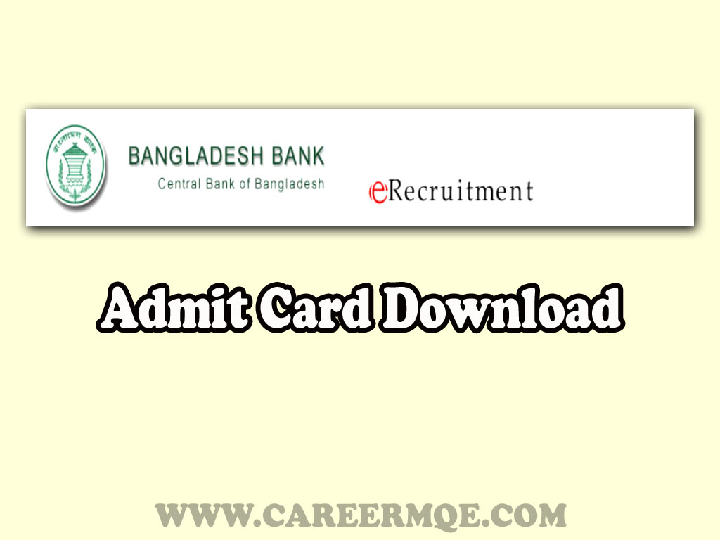 Date extension of downloading admit card for the post of Assistant Director(General) 2020
