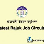 Latest rajuk job circular 2020